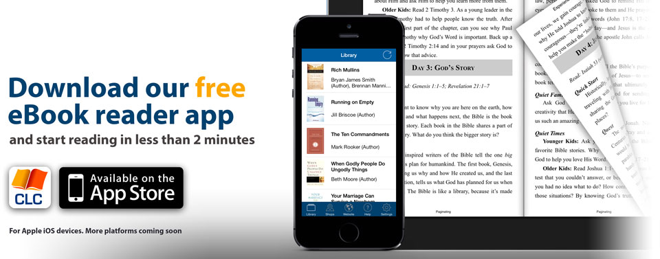 Download our free eBook reader app and start reading in less than 2 minutes